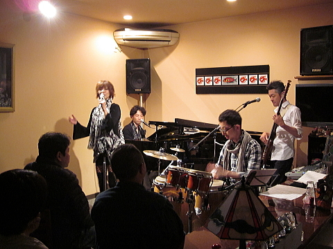 4/26『Masayo with Super Latin Trio』