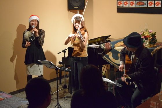 12/21Shoko・荒木博司・青柳妃姫